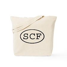 SCF Oval Tote Bag