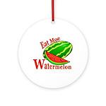 Watermelon Keepsake (Round)