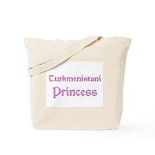 Turkmenistani Princess Tote Bag
