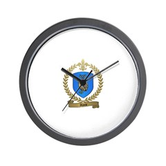 ALARIE Family Crest Wall Clock