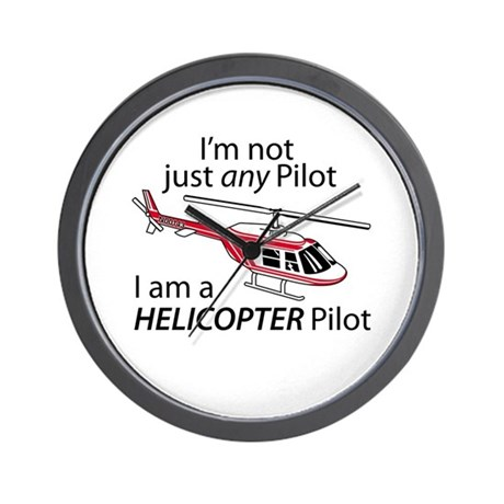 Not Just A Pilot Wall Clock