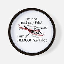 Not Just A Pilot Wall Clock