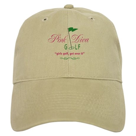 Pink Diva Golf Logo - Baseball Hat