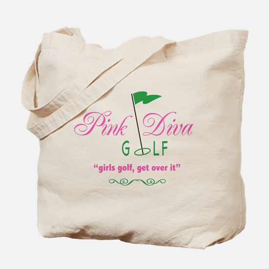 Pink Diva Golf - Tote Bag