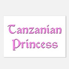 Tanzanian Princess Postcards (Package of 8)