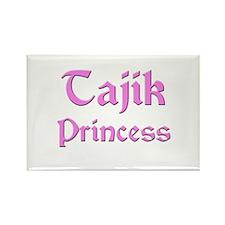 Tajik Princess Rectangle Magnet