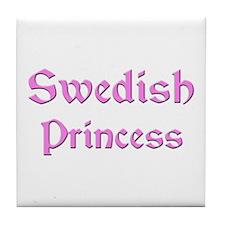 Swedish Princess Tile Coaster