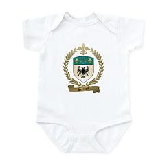 BERTRAND Family Crest Infant Creeper