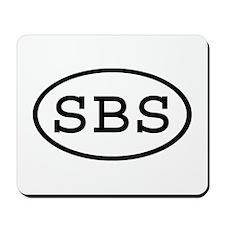 SBS Oval Mousepad