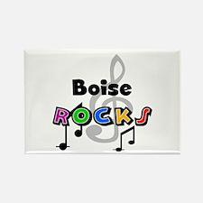 Boise Rocks Rectangle Magnet