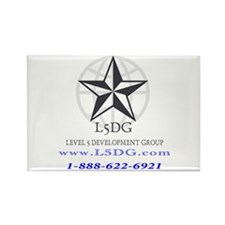 Cool Logo backs Rectangle Magnet (10 pack)