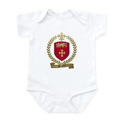 BERNARD Family Crest Infant Creeper