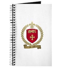 BERNARD Family Crest Journal