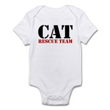 Cat Rescue Team Infant Bodysuit