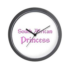 South African Princess Wall Clock