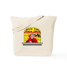 Wish You Were Tote Bag