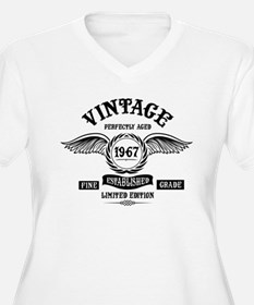Vintage Perfectly Aged 1967 Plus Size T-Shirt
