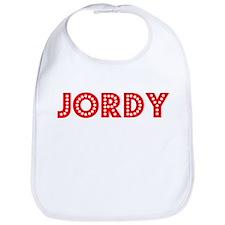 Retro Jordy (Red) Bib