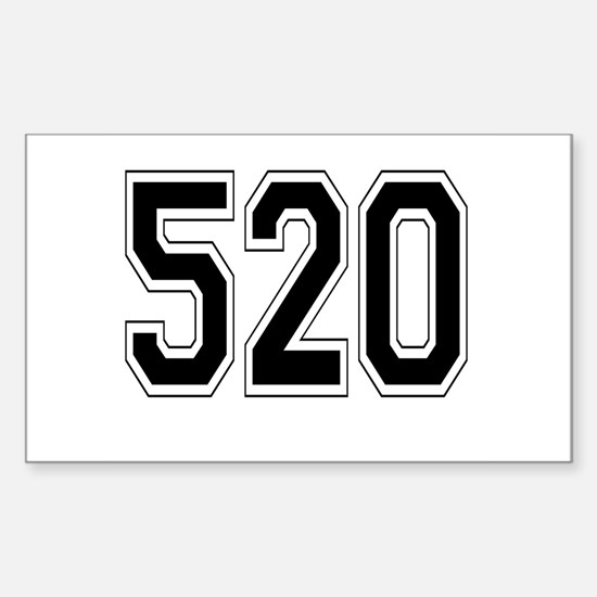 520 Rectangle Decal