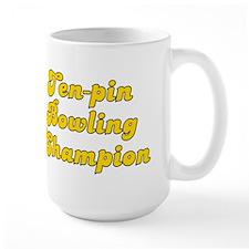 Retro Ten-pin Bow.. (Gold) Mug