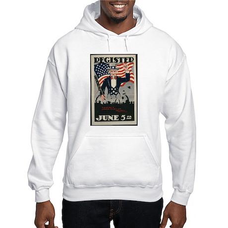 """Uncle Sam Says ..."" Hooded Sweatshirt"