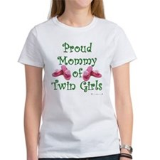 Proud Mommy of Twin Girls FF Tee