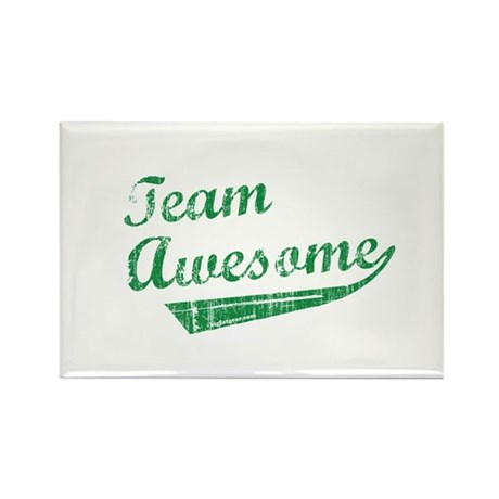 Team Awesome Rectangle Magnet (100 pack)