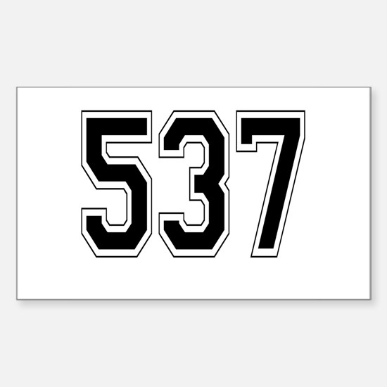 537 Rectangle Decal