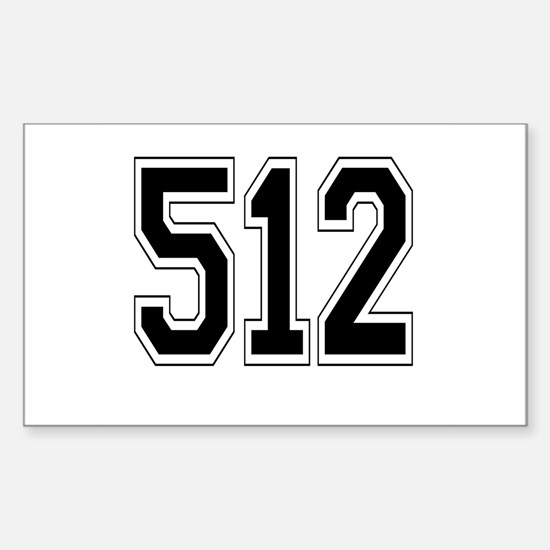 512 Rectangle Decal