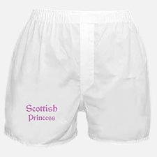 Scottish Princess Boxer Shorts
