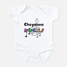 Cheyenne Rocks Onesie