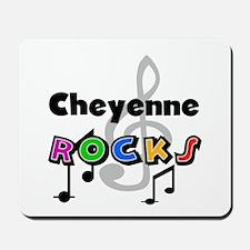 Cheyenne Rocks Mousepad