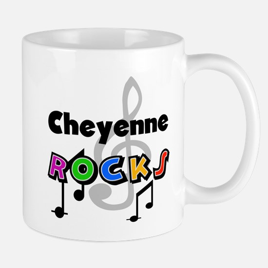 Cheyenne Rocks Mug
