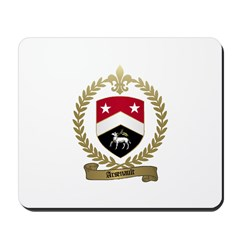 ARSENAULT Family Crest Mousepad