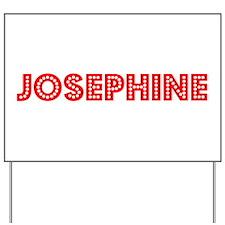 Retro Josephine (Red) Yard Sign