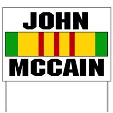 Vietnam McCain Yard Sign