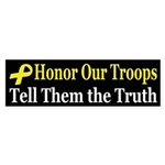 Honor Our Troops (bumper sticker)
