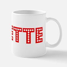 Retro Josette (Red) Mug