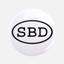 """SBD Oval 3.5"""" Button (100 pack)"""