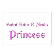 Saint Kitts & Nevis Princess Postcards (Package of