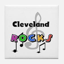 Cleveland Rocks Tile Coaster