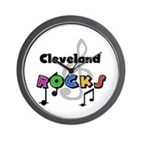 Cleveland ohio Wall Clocks