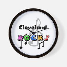 Cleveland Rocks Wall Clock