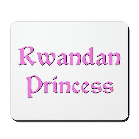 Rwandan Princess Mousepad