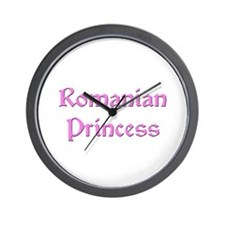 Romanian Princess Wall Clock