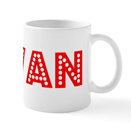 Retro Jovan (Red) Mug