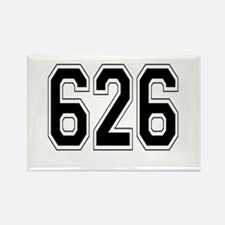 626 Rectangle Magnet