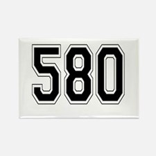 580 Rectangle Magnet
