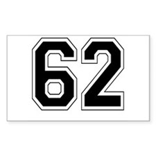 62 Rectangle Decal