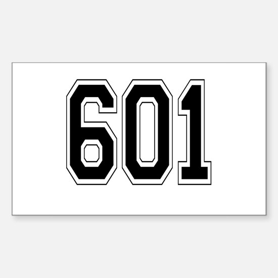 601 Rectangle Decal